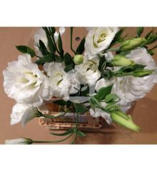 LISIANTHUS DOBLE BLANCO