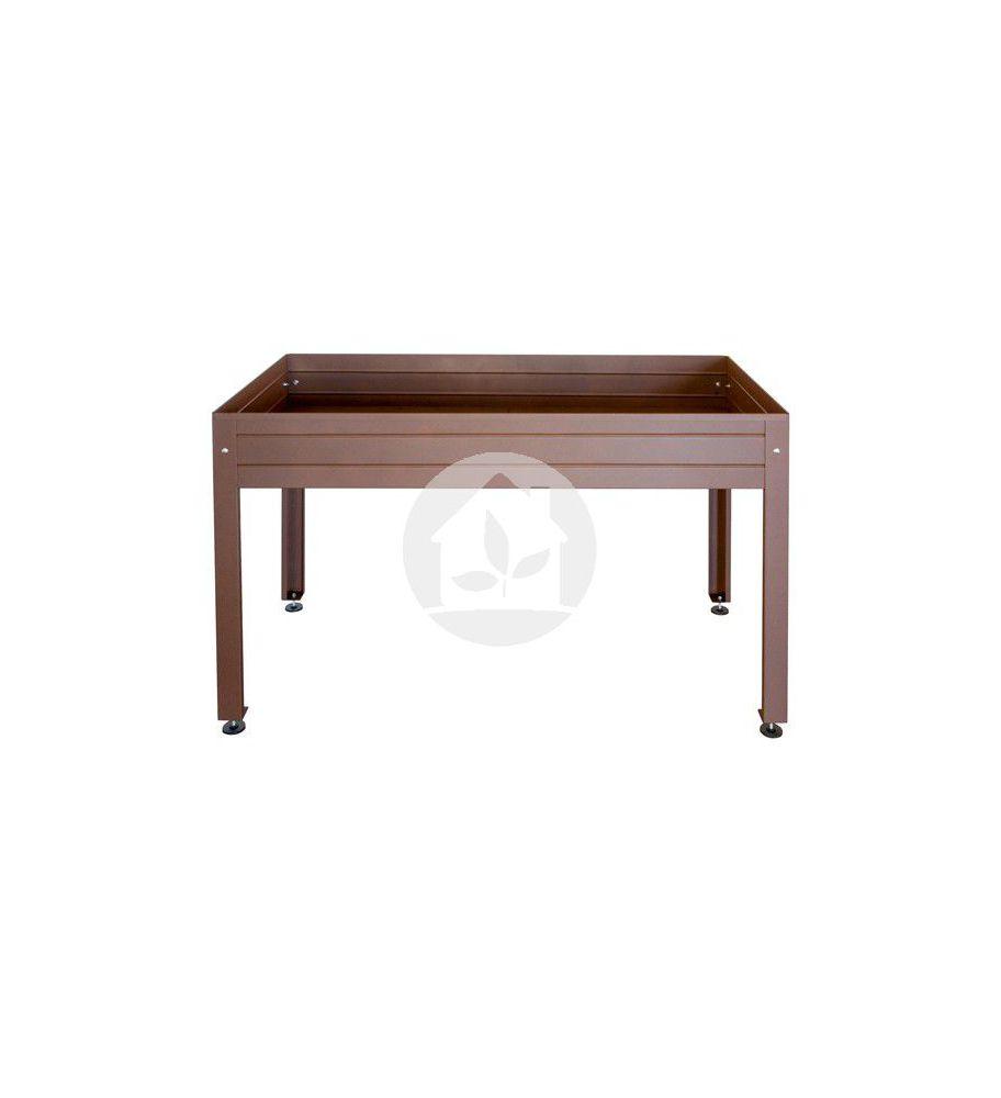 Mesa de cultivo 1500 x750x85 marrón